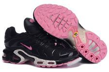 Nike Air Max TN Women Shoes Black Pink