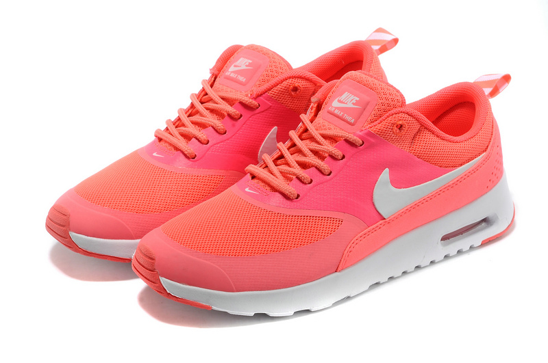 7wqbns5i authentic nike air max thea womens coral. Black Bedroom Furniture Sets. Home Design Ideas