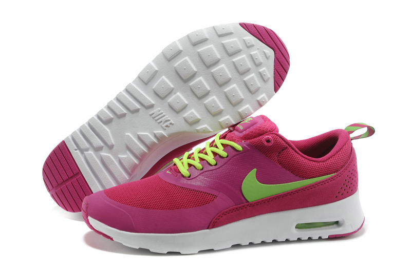 Women's Nike Air Max Thea 90 Dark Red Green
