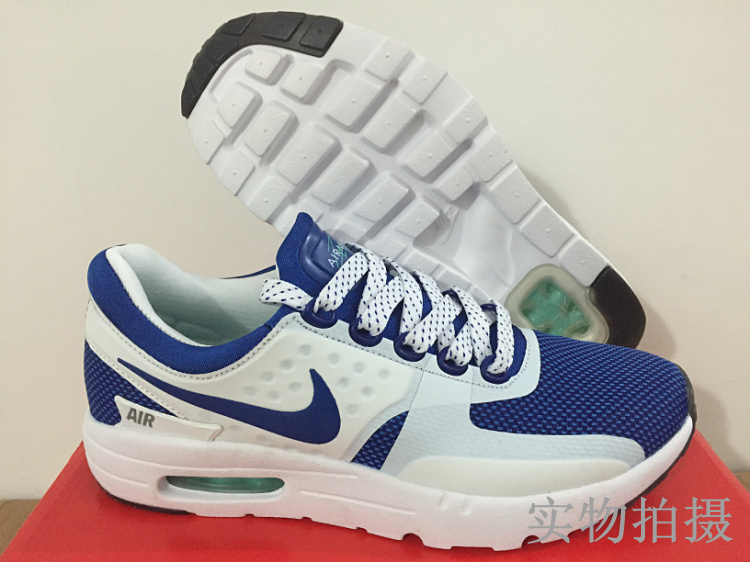 Nike Air Max Zero 87 II Blue White Shoes