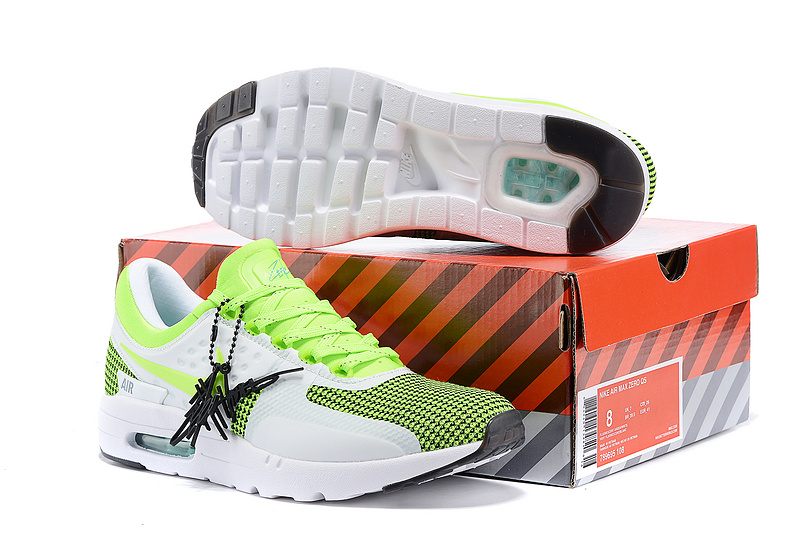 Nike Air Max Zero 87 II Green White Shoes