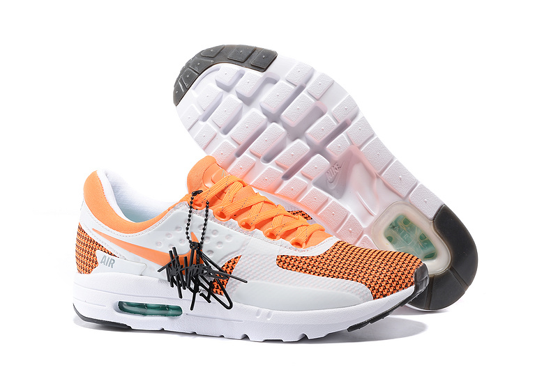 Nike Air Max Zero 87 II OrangeWhite Shoes