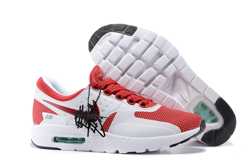 Nike Air Max Zero 87 II Red White Shoes