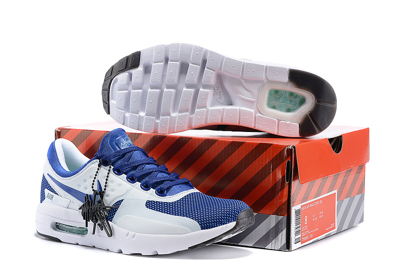 Nike Air Max Zero 87 II Royal Blue White Shoes