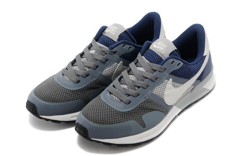 Nike Air Pegasus 8330 3M Running Shoes Grey White Blue