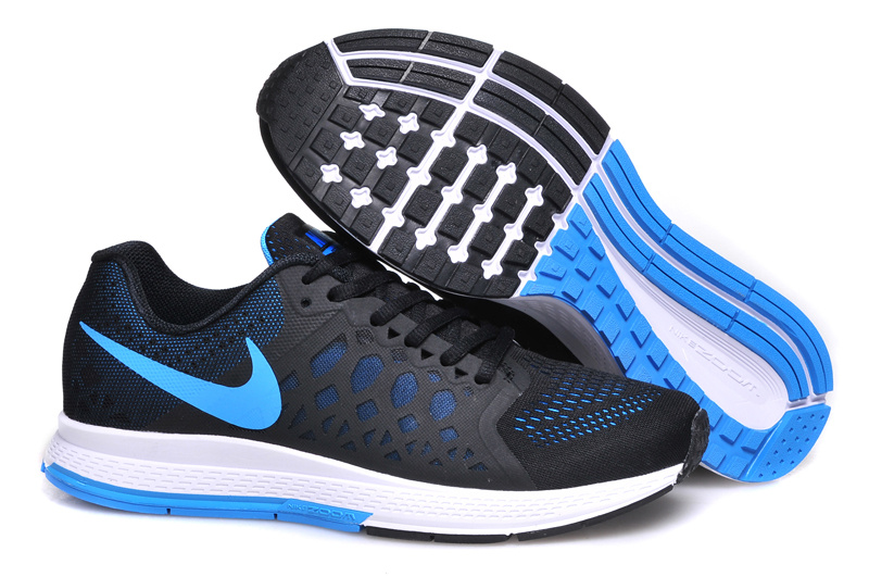 Nike Air Zoom Pegasus 31 Black Blue Running Shoes