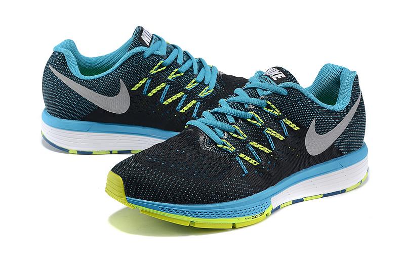 bad5752e418f6 ... wholesale nike air zoom vomero 10 black blue fluorscent white shoes  d2c57 f837f
