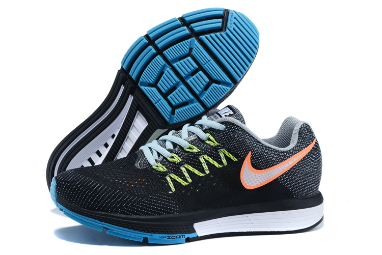 Nike Air Zoom Vomero 10 Black Green Blue White Shoes