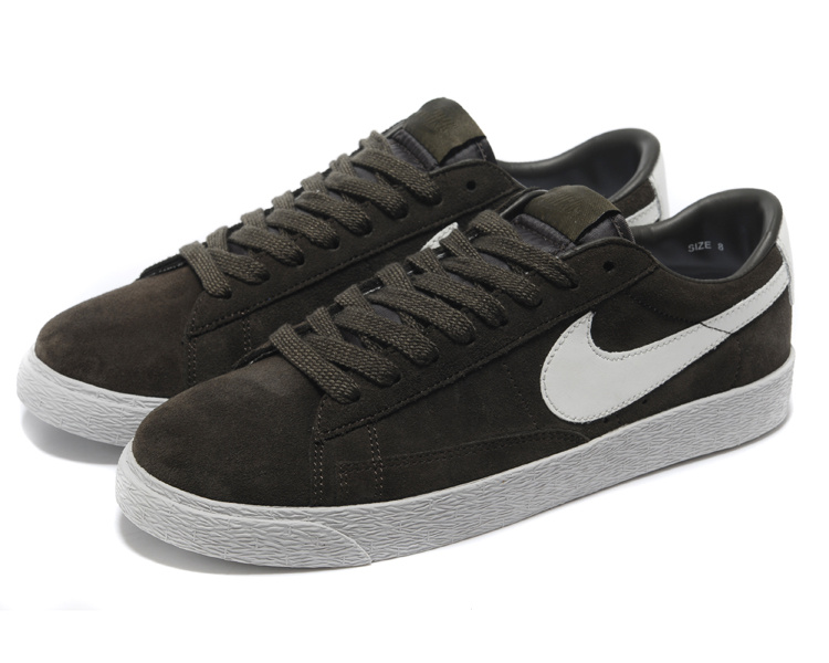 Nike Blazer 1 Low Black Coffe White DC Shoes