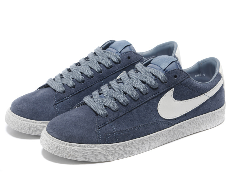 Nike Blazer 1 Low Blue White Shoes