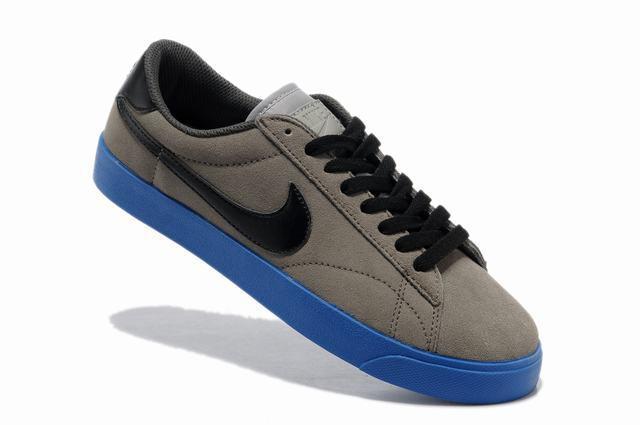 Nike Blazer 3 Low Grey Black Blue Men's Shoes
