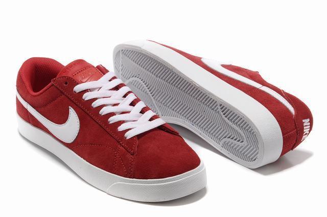 Nike Blazer 3 Low Red White Women's Shoes