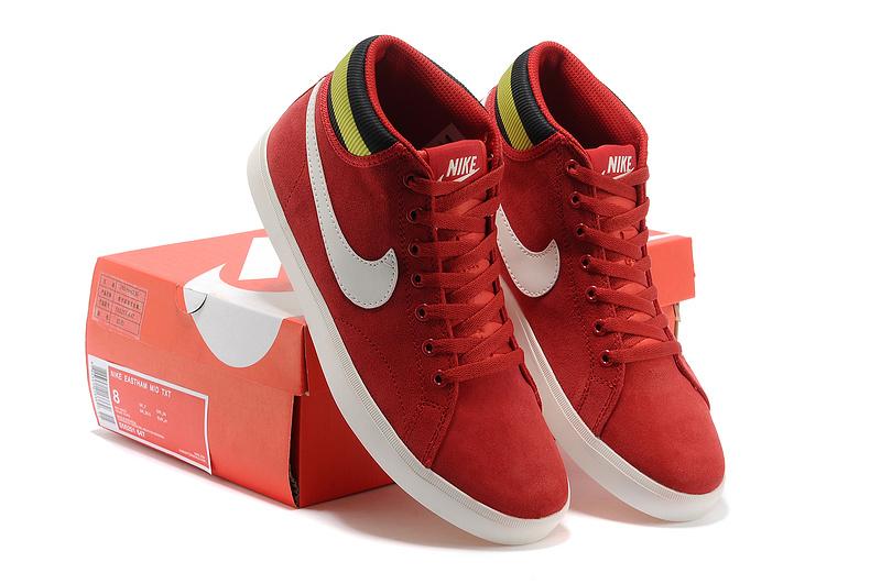 Nike Blazer High Red White Shoes
