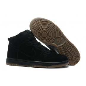 Nike Dunk High SB All Black Shoes
