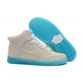 Nike Dunk High SB Grey Blue Shoes