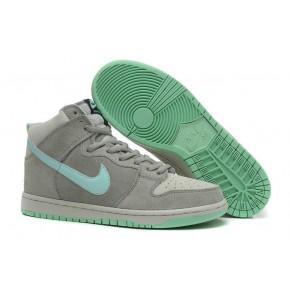 Nike Dunk High SB Grey Green Shoes