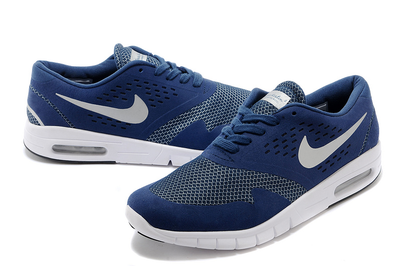 Nike Eric Koston 2 Max Shoes Blue White