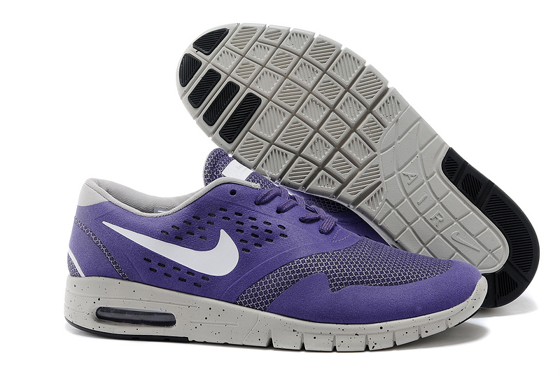 Nike Eric Koston 2 Max Shoes Purple White