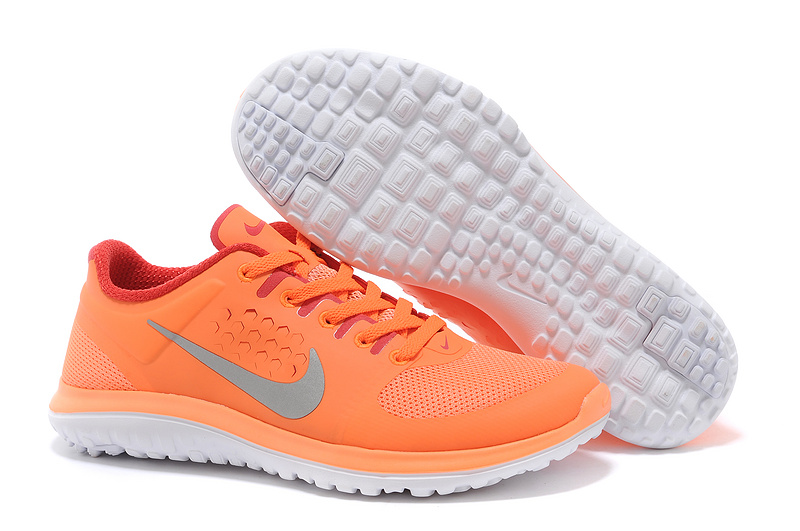 Nike FS Lite Run Shoes All Orange For Women