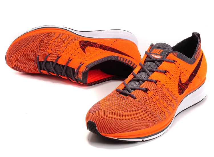 Nike Flyknit Trainer Orange Shoes
