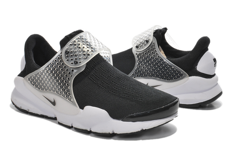 Women Nike Fragment Design Sock Dart SP Black White Shoes