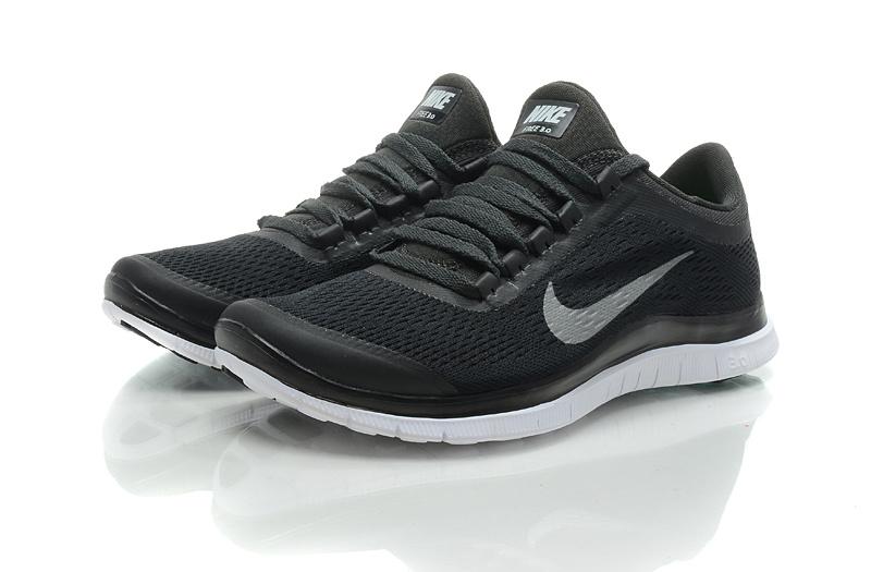 Nike Free Run 3.0 V5 All Black Shoes