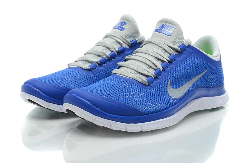 Nike Free Run 3.0 V5 Blue Grey Shoes