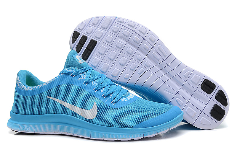Nike Free Run 3.0 V5 EXT Baby Blue White Shoes