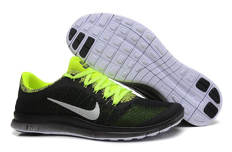 Nike Free Run 3.0 V5 EXT Black Green Shoes