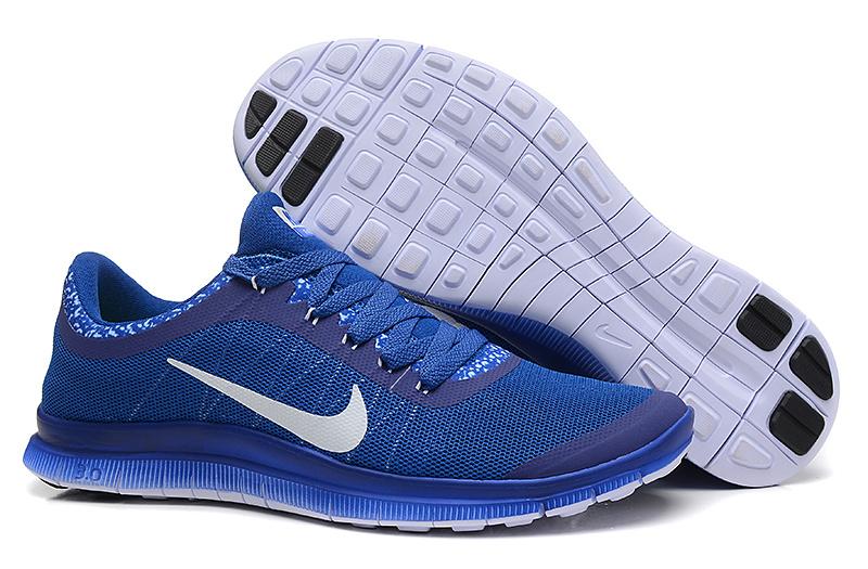 Nike Free Run 3.0 V5 EXT Blue White Shoes