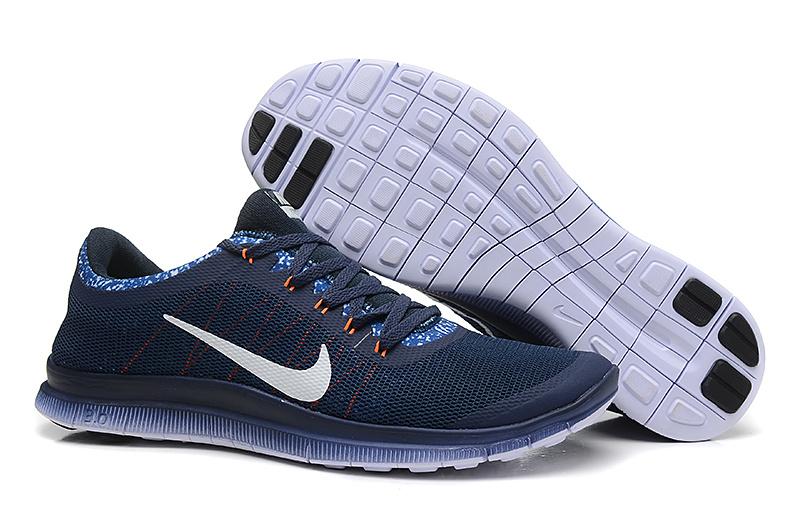 Nike Free Run 3.0 V5 EXT Dark Blue White Shoes