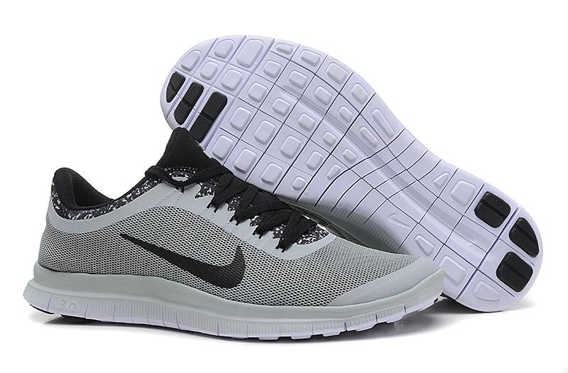 Nike Free Run 3.0 V5 EXT Grey Black Shoes