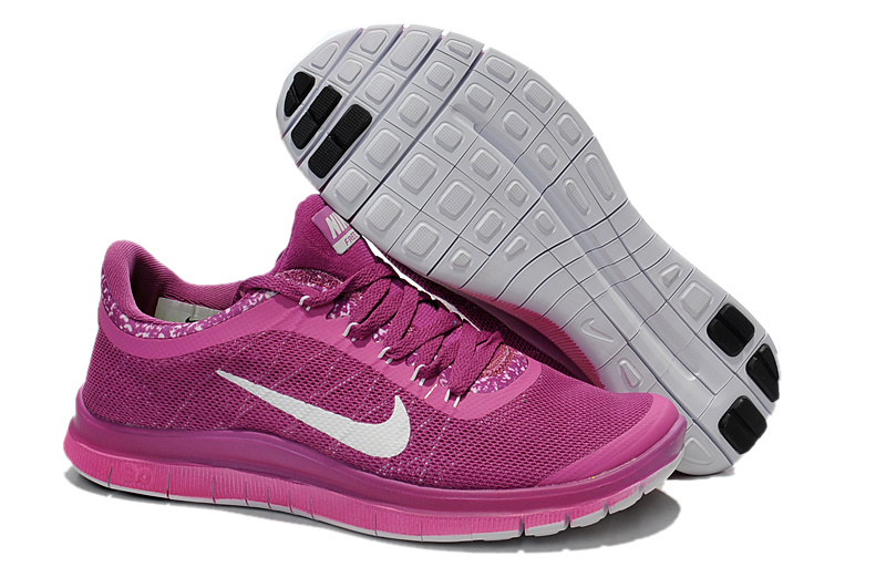 Nike Free Run 3.0 V5 EXT Purple White For Women