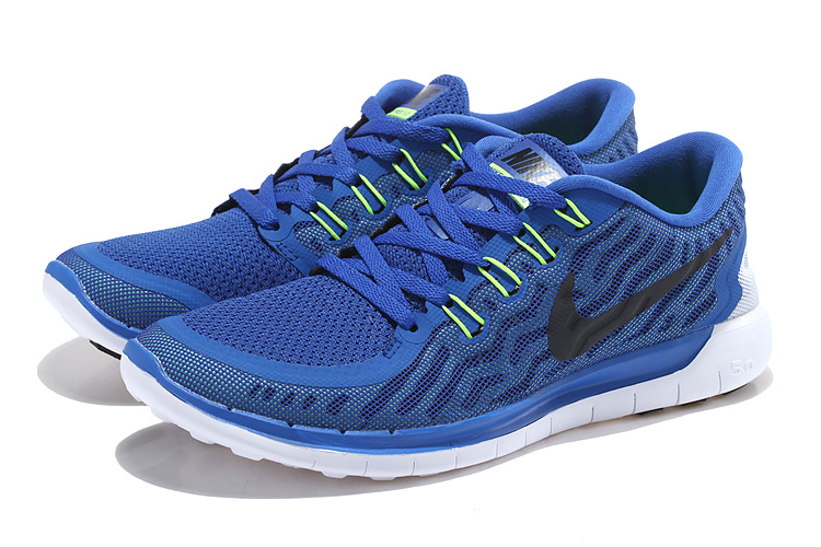 Nike Free 5.0+ 2 Blue Black Shoes