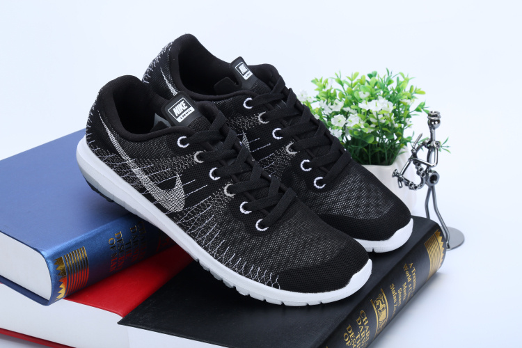 Nike Free 5.0 Flyline Black White Running Shoes