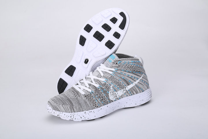 Nike Free Flyknit High Grey Shoes