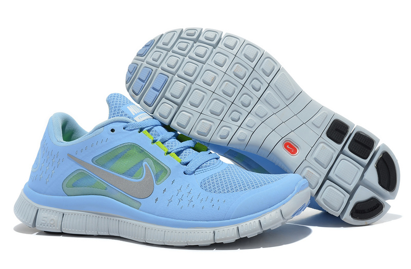 Nike Free Run+ 3 Tiffan Blue White Shoes