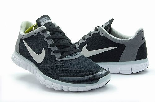 Nike Free Run 3.0 V2 Mesh Black Grey Shoes