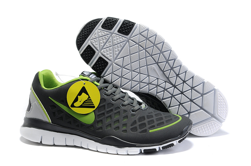 Nike Free Run 3.0 Black Green Shoes