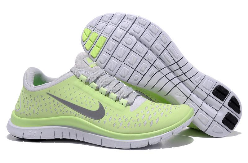 Women Nike Free Run 3.0 V4 Green Grey