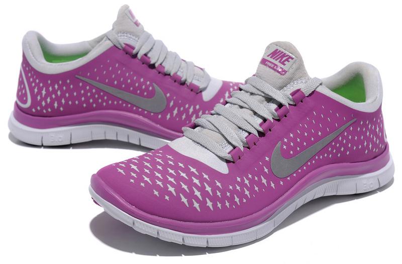 Women Nike Free Run 3.0 V4 Purple Grey