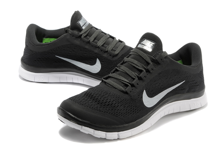 Nike Free Run 3.0 V5 Black White Shoes