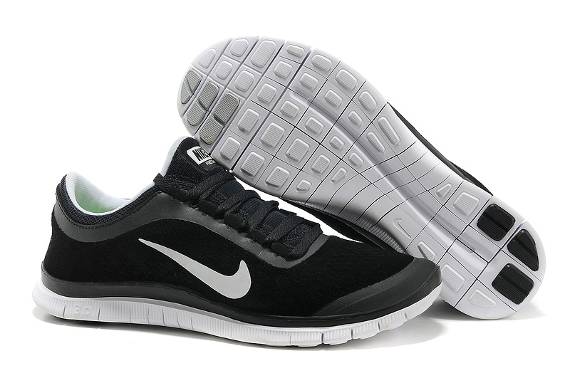 Nike Free Run 3.0 V5 Engrave Black White Shoes