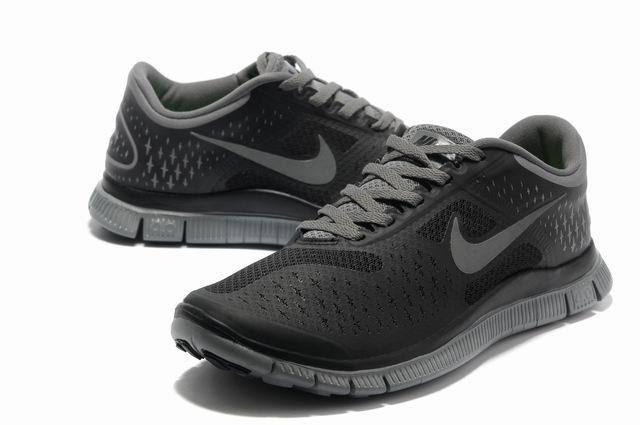 Nike Free Run 4.0 V2 Black Grey Shoes