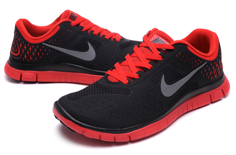 nike shoes for men black and red
