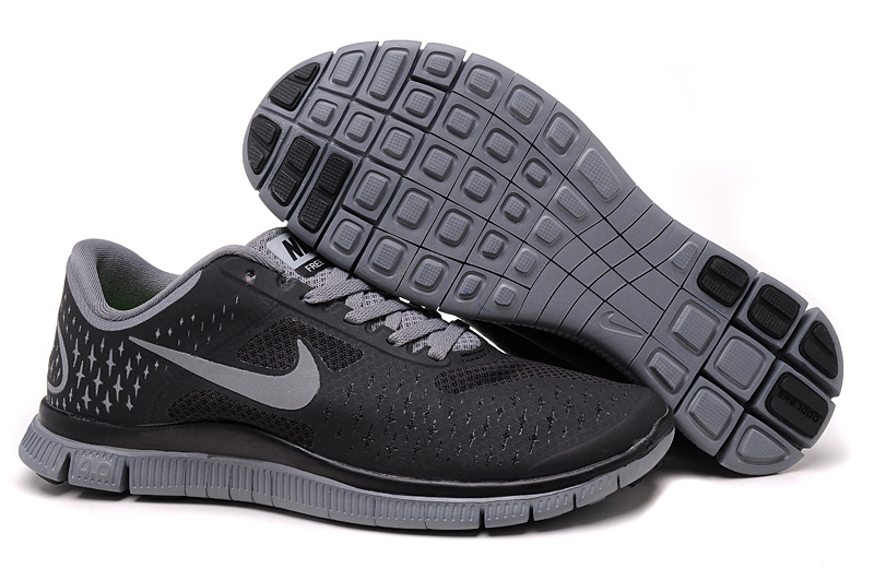 Nike Free 4.0 V2 Grey Running Shoes
