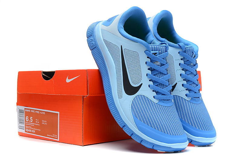Women Nike 4.0 V3 Running Shoes Blue