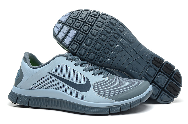 Nike Free Run 4.0 V3 Grey Black Shoes