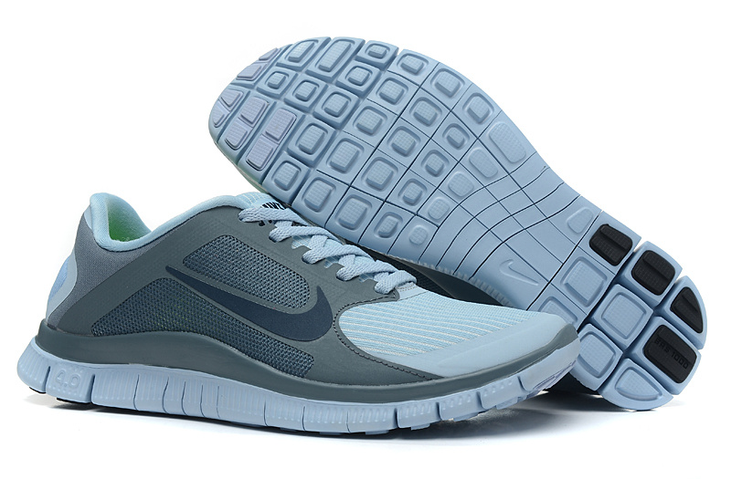 Women Nike 4.0 V3 Running Shoes Grey