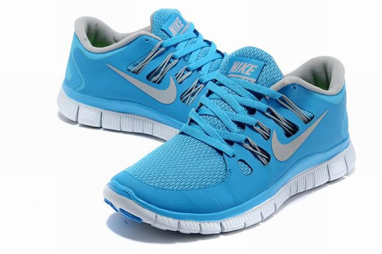 blue girls nike free runs